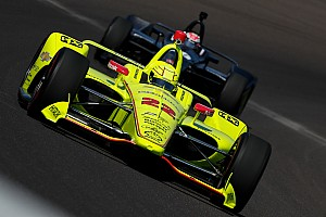 IndyCar Réactions Pour Pagenaud, le nouveau kit aéro se comporte différemment