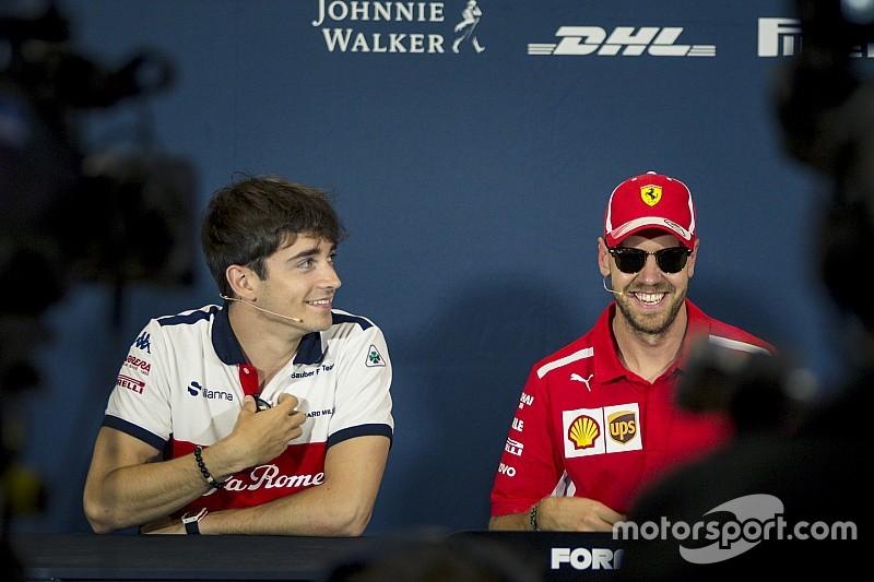 Barrichello szerint Leclerc jó kihívás lesz Vettel számára a Ferrarinál