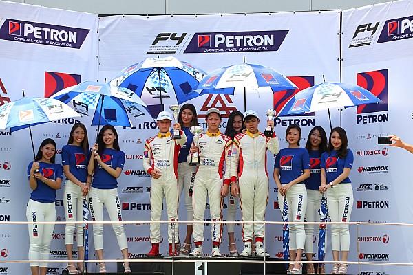 Formula 4 SEA Presley Martono menangi balapan di ronde pamungkas F4 SEA 2017-18