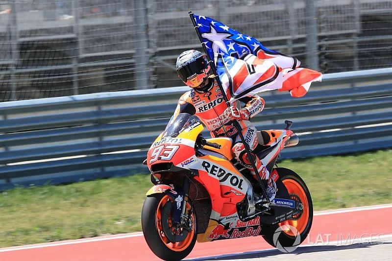 MotoGP Austin: Amerika'nın kralı Marquez yine zirvede!