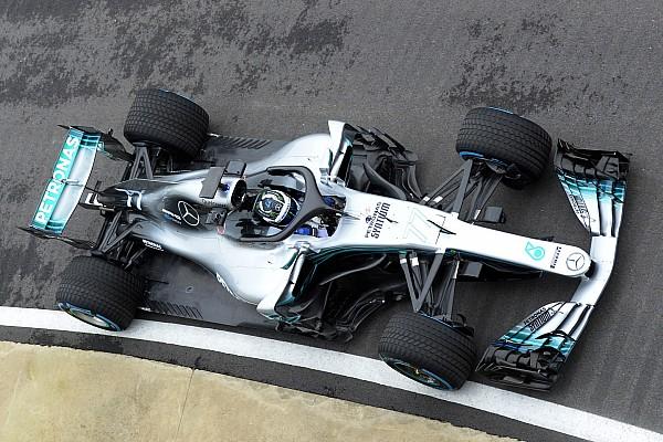 Формула 1 Новость Первый выезд Mercedes W09 на трассу: видео