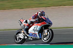 MotoGP Réactions Dovizioso et Lorenzo travaillent sur une