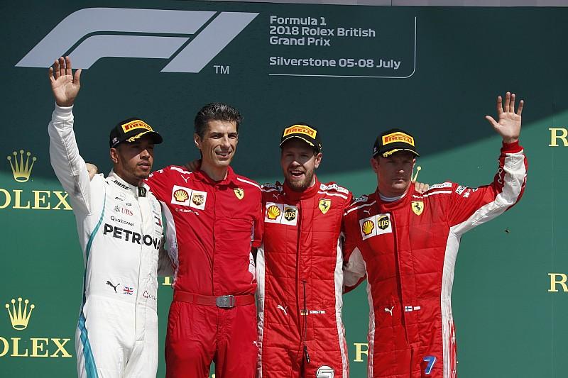Гран Прі Британії: Феттель виграв гонку, Хемілтон здійснив камбек після розвороту