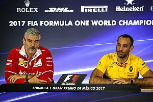 Formula 1 Son dakika Renault, 2020 sonrasında mevcut motorların kalmasını istiyor