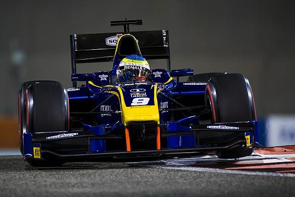 Abu Dhabi F2: Rowland claims third win of 2017