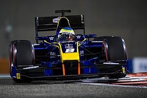 FIA F2 Relato da corrida Rowland triunfa sobre Markelov em corrida 1 em Abu Dhabi