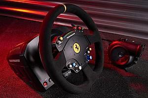 Sim racing Elemzés Újabb Ferrari-replika kormánnyal szimulátorozhatunk