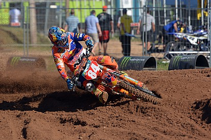 Jeffrey Herlings domina le qualifiche della MXGP in Lettonia