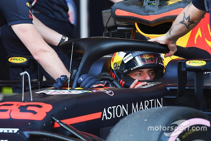 Verstappen over test: