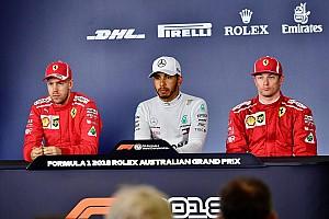 Formula 1 Press conference Australian GP: Post-qualifying press conference