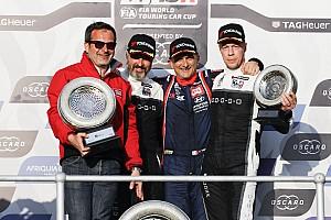 WTCR Résumé de course Tarquini et Hyundai dominateurs lors de l'ouverture à Marrakech