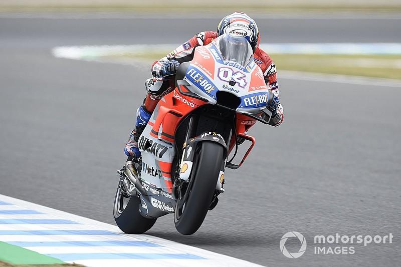 FP1 MotoGP Jepang: Dovizioso teratas, Marquez keempat