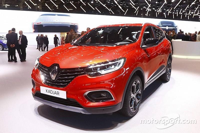 Renault Kadjar оновив дизайн на Паризькому автосалоні