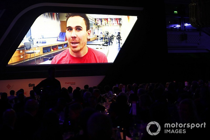 Autosport Awards: Robert Wickens sends message