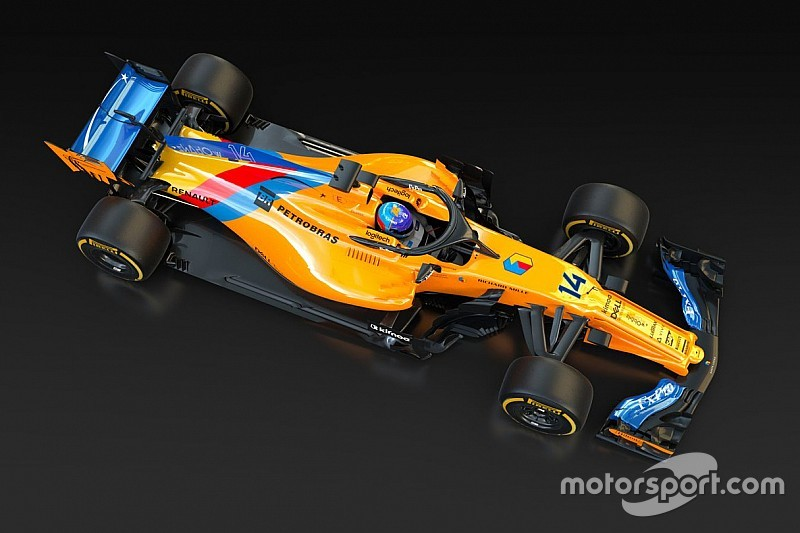 McLaren unveils special livery for Alonso's F1 farewell