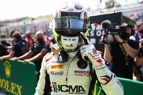 F3 Hungría, carrera 1: Colombo gana con Campos Racing