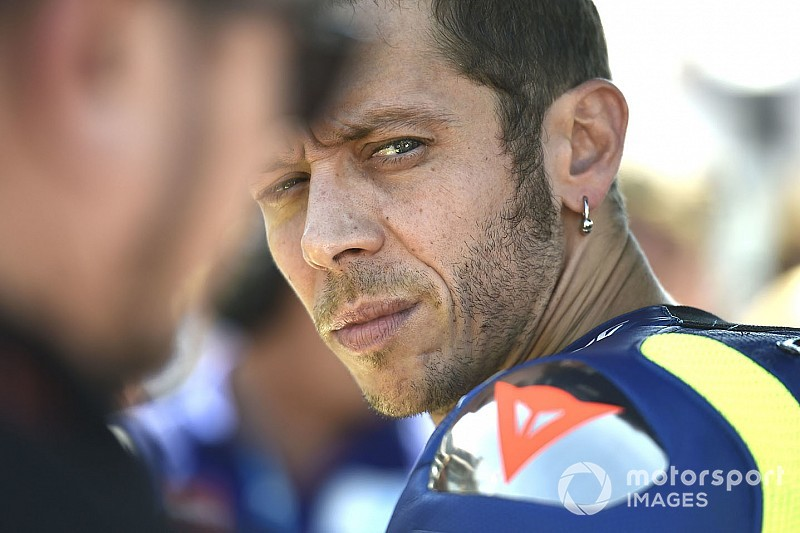 Hasrat Rossi bawa Yamaha jejaki podium
