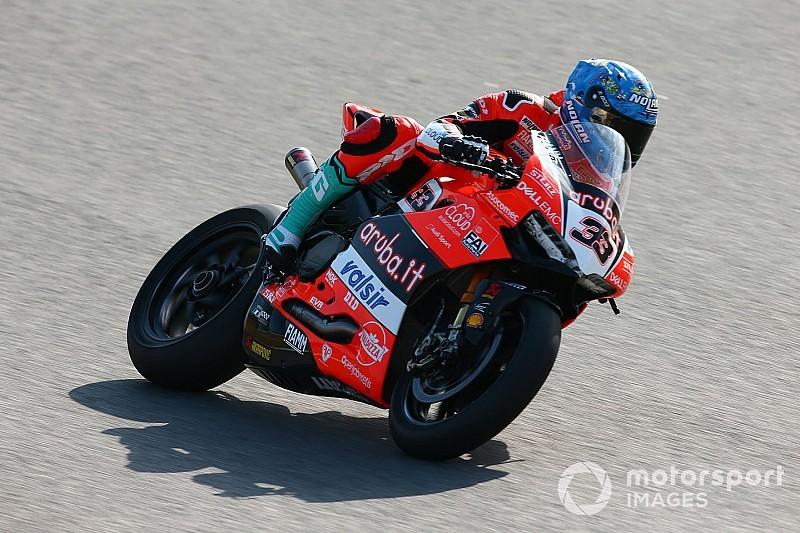 Superbike Portimao: Üçüncü seansta Melandri lider, Toprak üçüncü