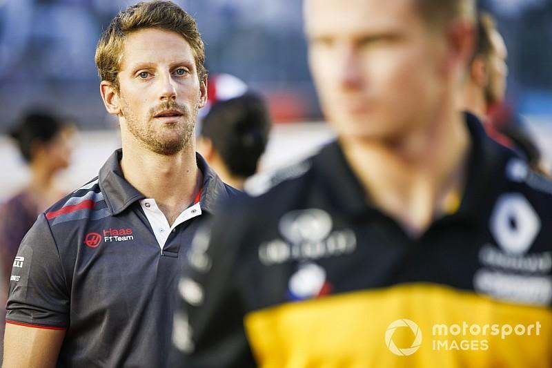 Menacé de suspension, Grosjean ne va pas changer d'approche