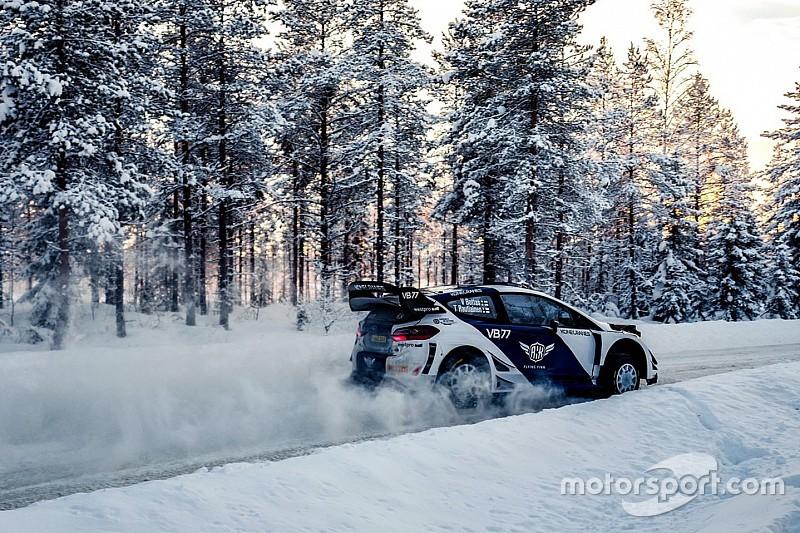 Bottas a remporté une spéciale pour son premier rallye
