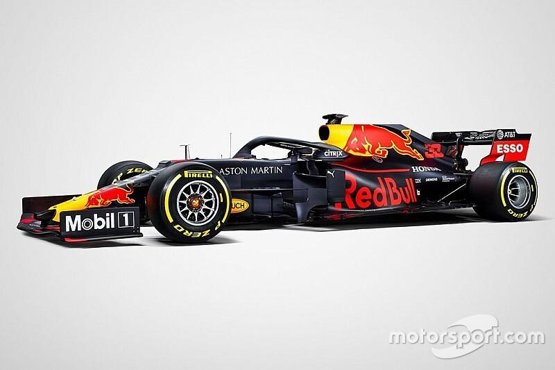 Red Bull toont definitieve kleurstelling voor Formule 1-seizoen 2019