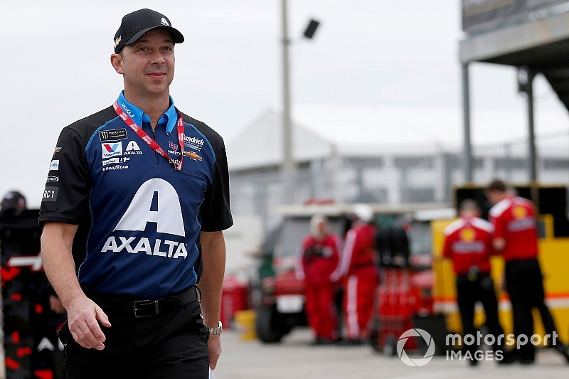 Chad Knaus says new role has