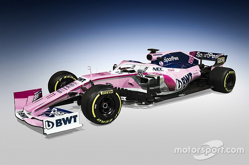 A legújabb F1-es versenyautó, melyről lehullt a lepel: SportPesa Racing Point F1 Team