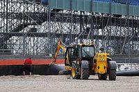 Las nuevas barreras de Silverstone ante accidentes