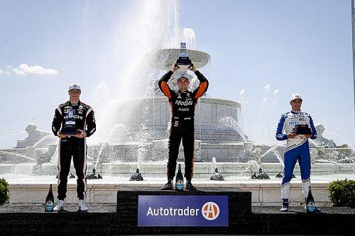 IndyCar: podio de Palou en la victoria de O'Ward en Detroit