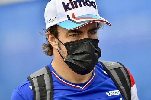 Alonso in gran spolvero grazie a una nuova idroguida