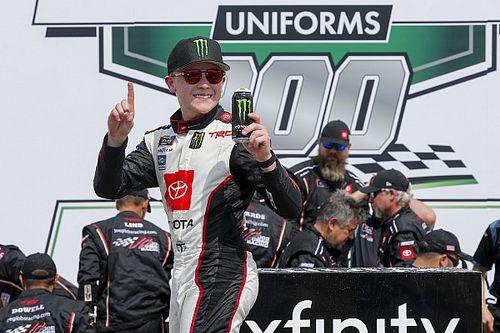 Ty Gibbs spins then wins Charlotte NASCAR Xfinity race