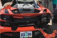 Gyorsulási versenyen törtek össze csúnyán egy bérelt McLaren 720S-t