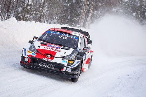 WRC, Rally Arctic, PS9: svetta Evans. Tutti conservano le gomme