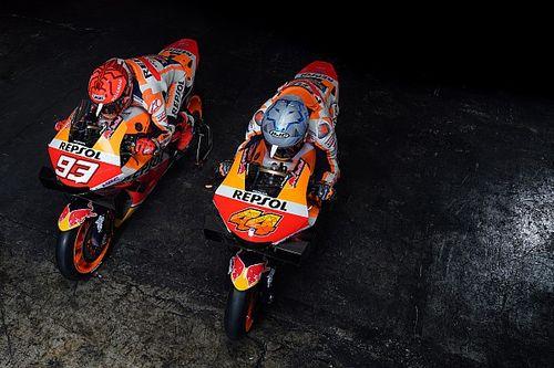 Honda reveals 2021 MotoGP bike, Marquez makes public return