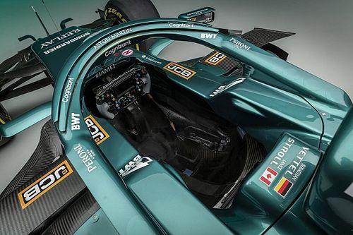 Galería: así luce a detalle el Aston Martin AMR21 para la F1