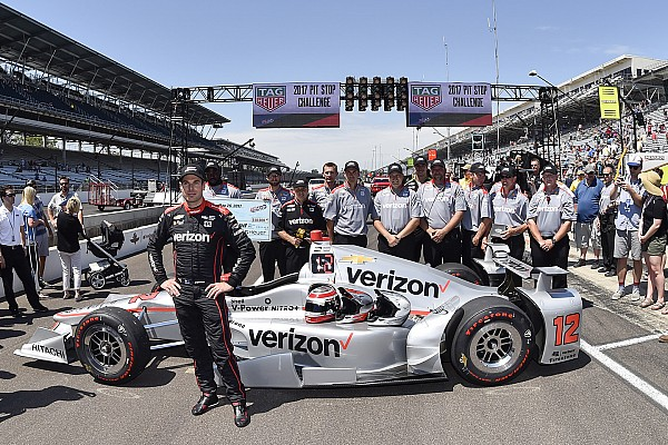 IndyCar Breaking news Indy 500: Power's Penske crew win pit stop competition