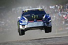 World Rallycross Sweden WRX: Kristoffersson leads Loeb on home soil