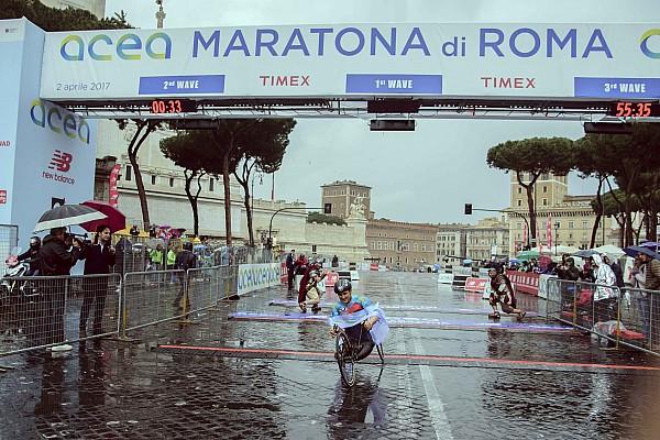 Дзанарди выиграл Римский марафон