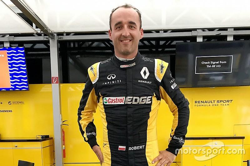 Кубица быстрее всех покинул кокпит во время теста FIA