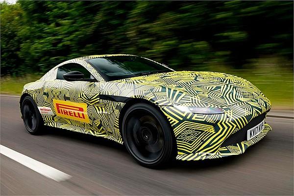 Fórmula 1 Noticias VIDEO: Verstappen probó el nuevo Aston Martin Vantage