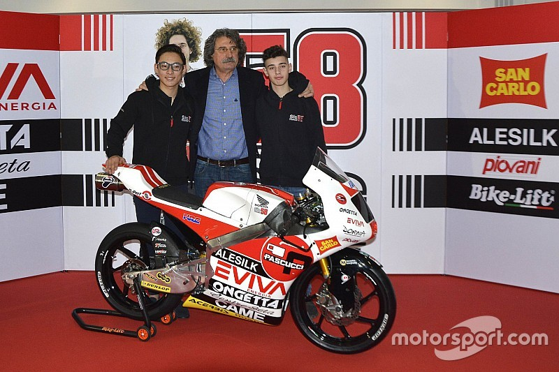 SIC58 Squadra Corse pastikan debut di Moto3