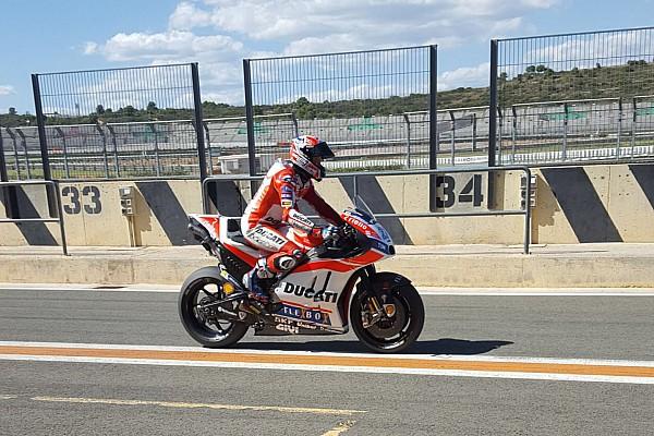 Stoner torna in sella alla Ducati MotoGP a Valencia