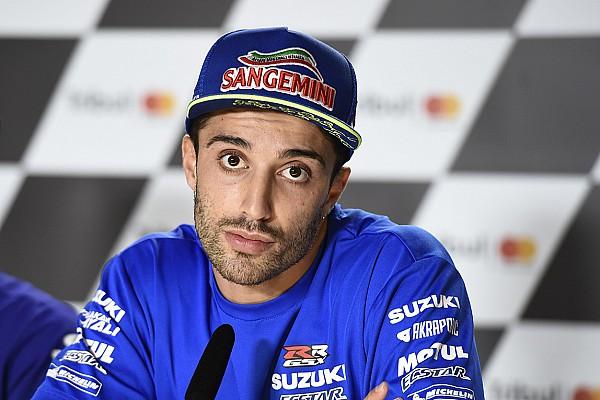 Iannone sul contatto con Marquez: