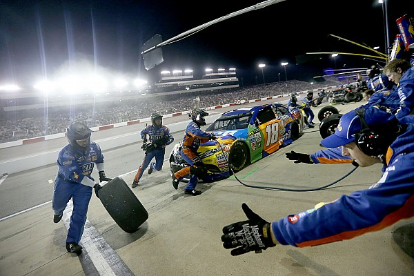 JGR swaps out Kyle Busch's pit crew ahead of NASCAR playoffs