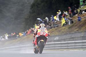 MotoGP Antrenman raporu Avustralya MotoGP 3. Antrenman: Islak zeminde Marquez lider!