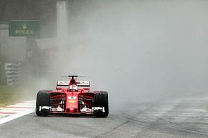 Fórmula 1 Noticias Vettel, sorprendido por la debacle de Ferrari en agua