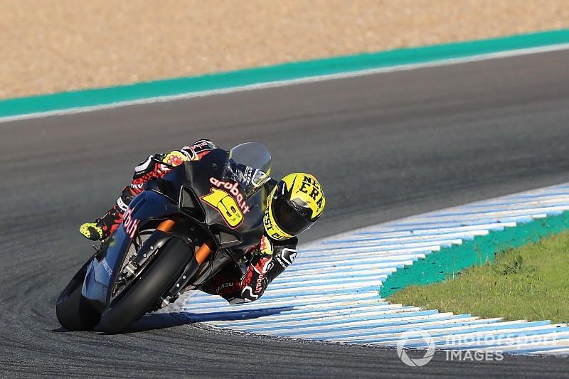 Les plus belles photos des derniers essais de l'année, à Jerez