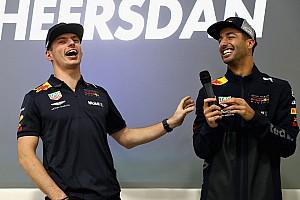 Verstappen schwärmt von Ricciardo: Es