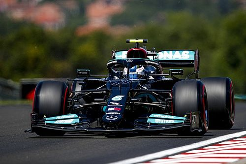 Mercedes domina la FP2 en Hungría con 1-2 de Bottas y Hamilton