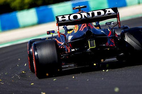 Pérez explica por qué no adelantó al final de la Q3 en Hungría